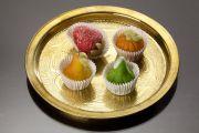 Assortiment de fruits en pâte d'amande