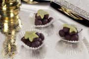 Grappes de raisin en pâte d'amande